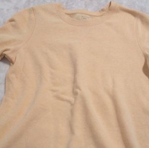 Peach colored oversized shirt